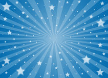 Light and stars Stock Image
