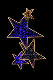 light stars Στοκ φωτογραφία με δικαίωμα ελεύθερης χρήσης
