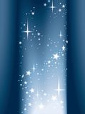 Light and stars, vector Royalty Free Stock Images