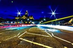 light streaks Στοκ εικόνα με δικαίωμα ελεύθερης χρήσης