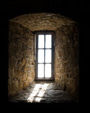 Light streaming through window Royalty Free Stock Image