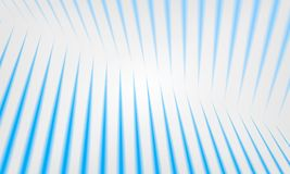 Light striped room. Vector abstract background. Blue stripe. S in perspective stock illustration