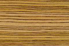 Light striped wood texture Stock Photography