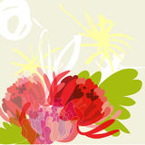 Light summer background. Universal template for valentine's card and other design Stock Photo