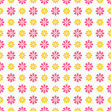 Light summer  seamless pattern. Fond pink, white Royalty Free Stock Photos