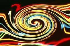 Light swirl Royalty Free Stock Image
