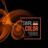 Light Swirl Background. Vector illustration Royalty Free Stock Photos