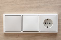 Light switch Stock Photography