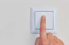 Light switch Stock Image