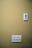 Light Switch Panel Royalty Free Stock Photo