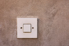 Light switch. Royalty Free Stock Photography