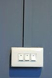 Light Switches Stock Photography