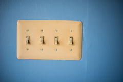Light Switches Royalty Free Stock Image