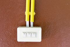 Light switches Royalty Free Stock Images