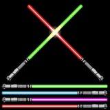 Light swords Stock Image