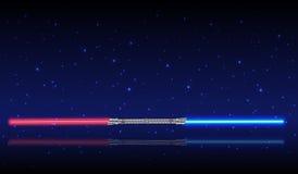 Light swords. Stock Images