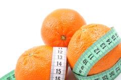 Light tangerines Stock Images