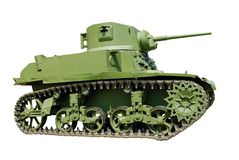 Light tank Royalty Free Stock Image