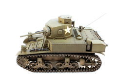 Light Tank M3 view left Stock Image
