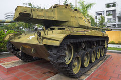 Light Tank M41 Walker Bulldog in Danang, Vietnam Stock Photos