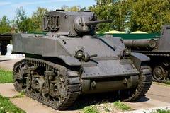 Light tank Stuart Royalty Free Stock Photography