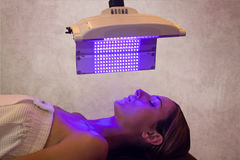 Light therapy royalty free stock photos