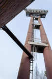 The light tower of Large stadium Stock Image