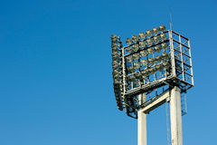 Light Tower in Stadium Royalty Free Stock Photography