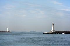 Light towers. Taken in Istanbul / Turkey Stock Image