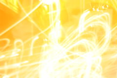 Light Traces In The Dark Royalty Free Stock Images