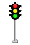 Light traffic Royalty Free Stock Images