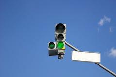 light traffic Στοκ Εικόνες