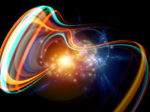 Light trail Royalty Free Stock Photography