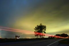 light trail Στοκ εικόνες με δικαίωμα ελεύθερης χρήσης
