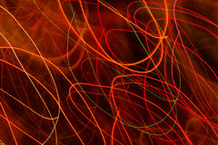 Light trail background Stock Images