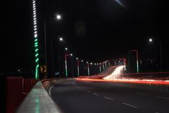 light trail india royalty free stock photo