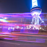 Light trails Stock Photography