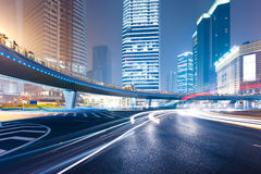 Light trails Stock Images