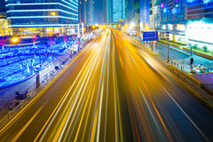 Light trails Royalty Free Stock Images