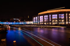 Light Trails Amsterdam Royalty Free Stock Images