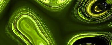 Light trails on black background. Digital artwork creative graphic design Royalty Free Stock Image