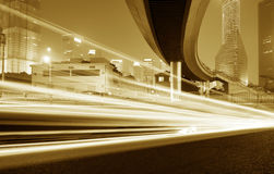 Light trails Royalty Free Stock Photography
