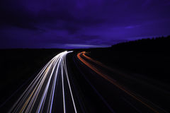 Light trails Royalty Free Stock Image