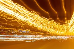 Light trails motion effect. Absteact lights shape motion effect nice background royalty free stock image