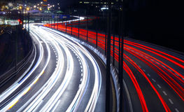 Light Trails Royalty Free Stock Photo