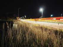 Light Trails by Poole Royalty Free Stock Photo