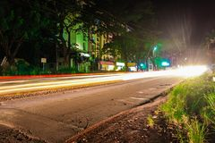 Light Trails royalty free stock photos