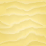 Light tropical sand background. Light yellow sand background with wawes and grain Stock Images
