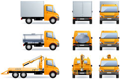 Light trucks Royalty Free Stock Photography