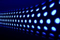 Light Tube 2. An abstract halogen light tube , macro view Stock Images